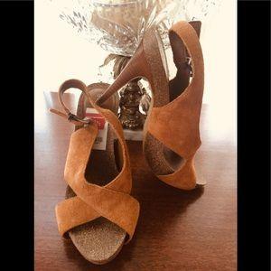 BCBG Generation Leather Stilettos NWOT Sz 8.5